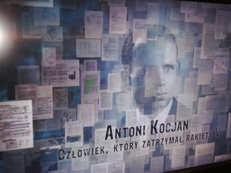 Antoni Kocjan - człowiek, który zatrzymał rakiety V